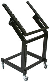 Nippon Zebra Audio Equipment Rack With Rollers