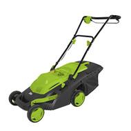 Serene-Life PSLCLM60 Cordless Lawn Mower 36V Battery, Easy-Empty Grass Bin