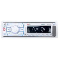 Boss Marine MR1307UA 200 Watts Single Din Waterproof MP3 Receiver AM/FM Radio