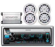 "Kenwood Amplifier,Kenwood 6.5""Speakers,Kenwood USB Bluetooth CD AUX AM FM Radio"