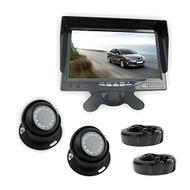 Pyle PLCMTR7250 Rear View Backup Camera & Monitor System Kit, 7'' Display