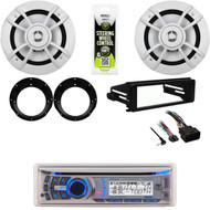 98-2013 Harley Install FLHX Kit,Bluetooth Stereo, Speakers/Adapters, Amp,Antenna