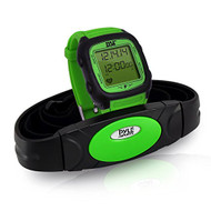New Pyle PHRM76GN Multi-Function Speed and Distance Digital Wrist Watch/Pedometer/Calorie Counter Heart Rate Monitor