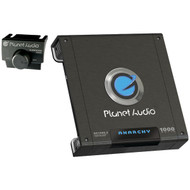 Planet Audio AC1000.2 ANARCHY 1000-Watt Full Range Class A/B 2 to 8 Ohm Stable 2 Channel Amplifier with Remote Subwoofer Level Control