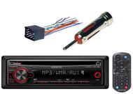 Dash Installation Mounting Trim& Wire Harness,Kenwood AUX Mp3 CD AM FM Car Radio