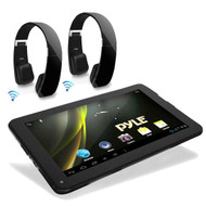 Android 4.2 Bluetooth Touch 3D Graphics Pyle Tablet,2 Black Bluetooth Headphones