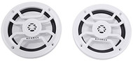 "Hifonics 6.5"" Inch Marine 120-Watt 2-Way Speakers w/ Grills (White)"