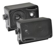 "Pyle PLMR23BBT 3.5"" Bluetooth Marine Speakers, 3-Way Waterproof System"