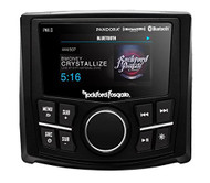 "Rockford PMX-3 Punch Marine/Motorsport Compact Digital Media Receiver w/ 2.7"" Display"