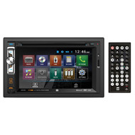 "Dual AV Double Din 6.2"" Touch Screen DVD Bluetooth USB Receiver"
