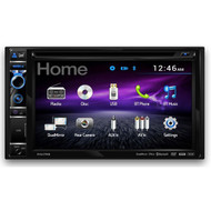 "Dual AV DV637MB Double Din 6.2"" Touch Screen DVD Bluetooth USB Receiver"