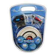 Audiopipe 8 Gauge Marine Amplifer Wiring Kit