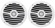 "(2) Rockford Fosgate Prime RM1652 6.5"" 300W Marine/Boat Speakers White 4-Ohm"