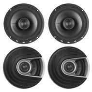 "4x Polk Audio MM Series Ultra Marine Certified 6.5"" 2 Way Coaxial Car / Boat Speakers"