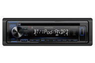 Kenwood KDCBT22 In-Dash Single DIN Car Audio AUX USB MP3 AM/FM CD Bluetooth Stereo Receiver