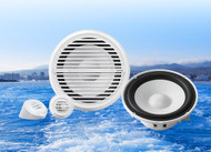 "Clarion CMG1622S 6.5"" Marine Audio 2-Way Water Resistant Component Speakers (Pair)"
