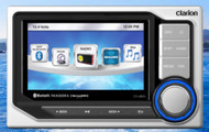 Clarion CMS5 Marine Audio Digital Media Hideaway Bluetooth Receiver