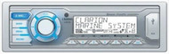 Clarion M505 Marine Audio Single DIN Stereo Receiver with Bluetooth