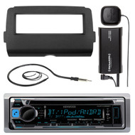 Harley 2014-UP Batwing Install Kit, Bluetooth CD Radio, Antenna, Sirius XM Tuner (R-KMRD365BT-SXV300-V1-HD7001B)