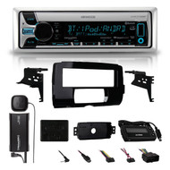 2014-15 HARLEY TOURING INSTALL ADAPTER FLHT FLHTC CD DASH KIT /SIRIUS XM ANTENNA (16HDSKIT045)