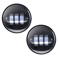 "Enrock LED CREE IP67 Waterproof  4.5"" Harley Davidson 30 Watt Fog Lamps (Black) (R-EOR40FG)"