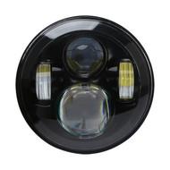 """New Enrock 7"""" LED Chrome Headlight For Harley Davidson and Jeep Wrangler (R-EOR7001)"""