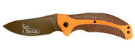 Kershaw Buck Commander Lone Rock Folding Knife W/ Drop Point Blade (R-1898ORBRNBCX)