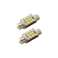 Sirius 9 Smd 3020 38Mm Festoon Led With Heat Sink Pair (R-38MM9SMD3020)