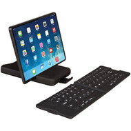 IWERKZ 44671 Waterproof Bluetooth(R) Folding Keyboard (Black) (R-44671)