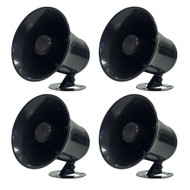 4) NEW PYRAMID SP5 All Weather 5'' 60W PA Mono Extension Horn Trumpet Speakers (R-4XSP5)