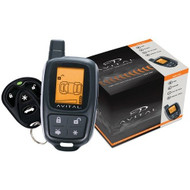 Avital 2-way Lcd Remote Start + Alarm D2d Serial Port, Temp Check, Smart Start Ready (R-5305L)