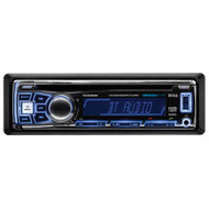 Boss Single Din MP3/CD/AM/FM Receiver Bluetooth USB Front Aux Input Detachable Panel Remote (R-762BRGB)