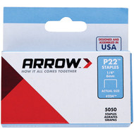 "Arrow 224 Plier Staples, 5,000 pk (1/4"") (R-AFC224)"