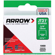 "Arrow 27624 Thin Wire Staples, 1,000 pk (3/8"") (R-AFC27624)"