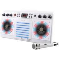 AKAI KS303W-BT CD+G Bluetooth(R) Karaoke System (R-AKAIKS303WBT)