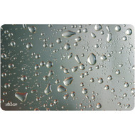ALLSOP 29648 Widescreen Metallic Raindrop Mouse Pad (R-ALS29648)