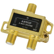 Antop Antenna Inc AT-705 2-Way 2GHz Low-Loss Coaxial Splitter (R-ANTAT705)