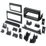 "BEST KITS BKGM4 In-Dash Installation Kit (GM(R) Universal 1982-2003 with Factory Brackets & Flat, .5"" & 1"" Trim Plates Single-DIN) (R-AOABKGM4)"
