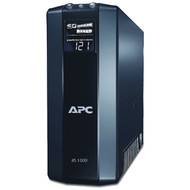 APC BR1000G Power Saving Back UPS RS System (Output Power Capacity: 1,000VA/600W; 8 outlets--4 UPS/Surge, 4 Surge only) (R-APCBR1000G)