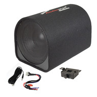 "Audiopipe 12"" Single Ported Bass Tube Enclosure600W (R-APDX12A)"