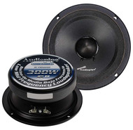 "Audiopipe 6"" Mid Range Loud Speaker (Sold Each) (R-APMB638SBC)"