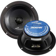 "Audiopipe 8"" Mid Range Speaker (Sold Each) (R-APMB838SBC)"
