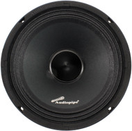 "Audiopipe 8"" Mid Range Speaker(Sold each) 500W Max 8 Ohms (R-APMB8BTB)"