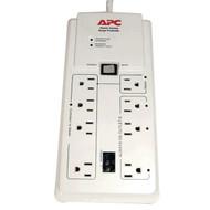 APC P8GT 8-Outlet Energy-Saving Surge Protector (R-APNP8GT)