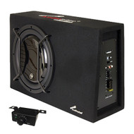 "Audiopipe Single 12"" Sealed Bass Enclosure 600W Max (R-APSB12AMP)"