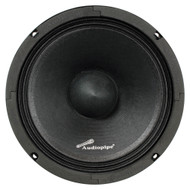 "Audiopipe 8"" Low mid frequency loudspeaker(Sold each) 400W Max (R-APSL8B)"