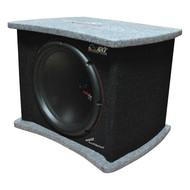 "Audiopipe Dual 12"" Hatchback Loaded Enclosure 1500 Watts Max (R-APSQ120ET)"