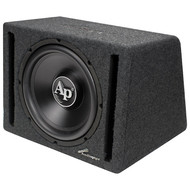 "Audiopipe 12"" In A Single Ported Box With 600 Watt Amplifier (R-APVB12AMP)"