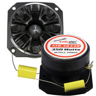 Audiopipe Bullet Tweeter 350 Watts 4 Ohm Black With Grill (Each) (R-ATR3233B)