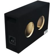 "ATREND 6.5DVME BBox Series 6.5"" Dual Shallow Hyper Vented Enclosure (R-ATR65DVME)"
